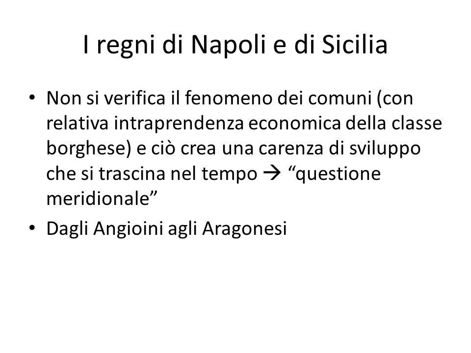I regni di Napoli e di Sicilia