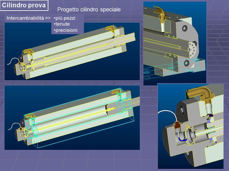 Cilindro prova Progetto cilindro speciale Intercambiabilità =>