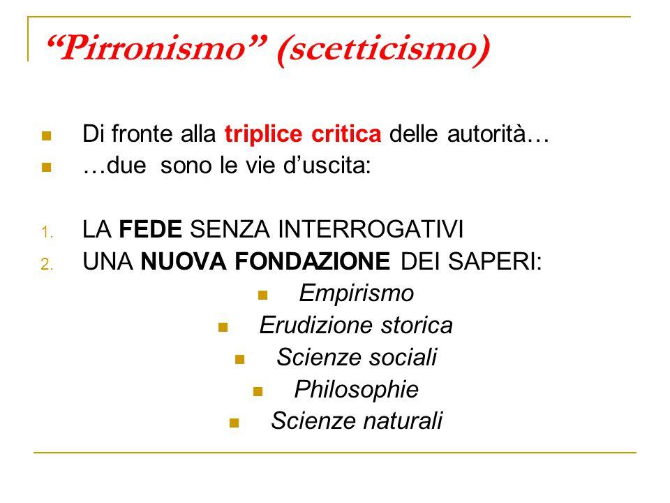 Pirronismo (scetticismo)