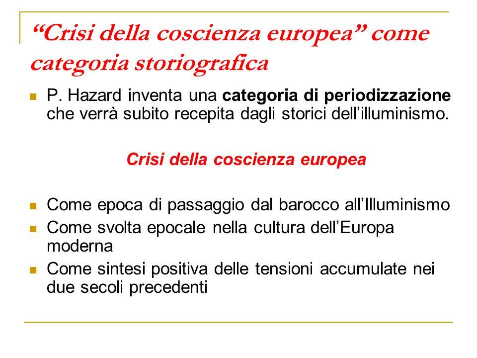 Crisi della coscienza europea come categoria storiografica
