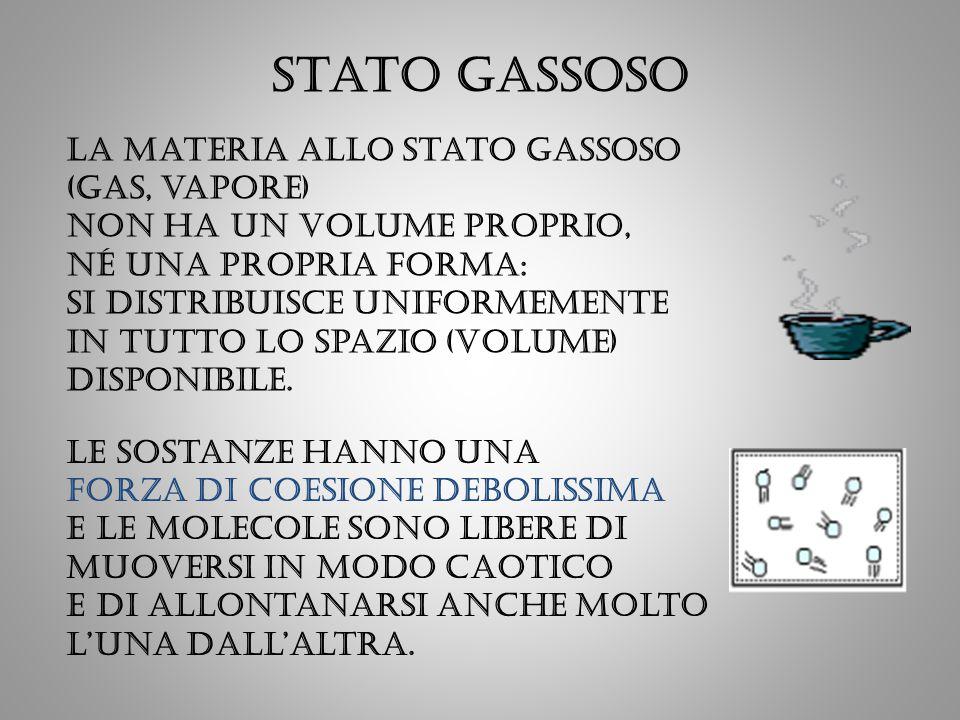 Stato GASSOSO