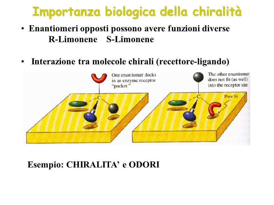 Importanza biologica della chiralità