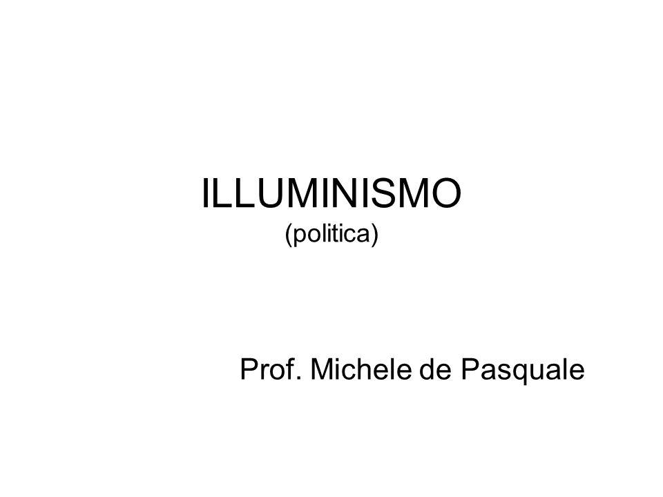 ILLUMINISMO (politica)