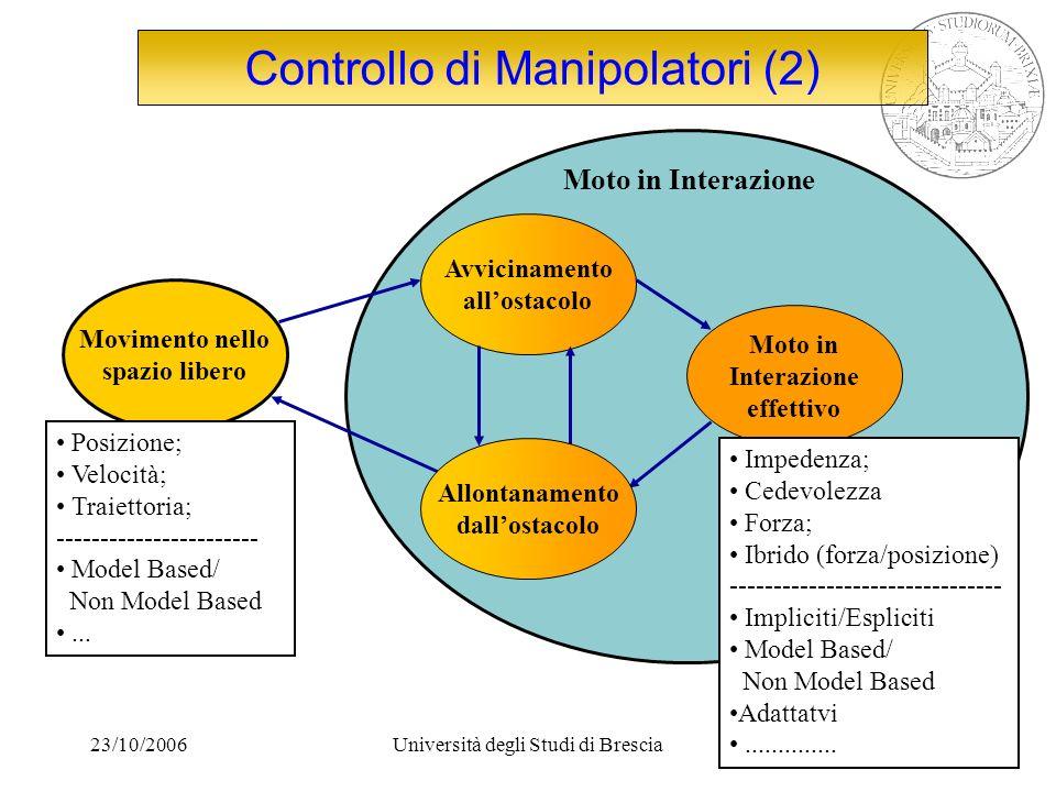Controllo di Manipolatori (2)