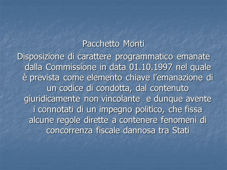 Pacchetto Monti
