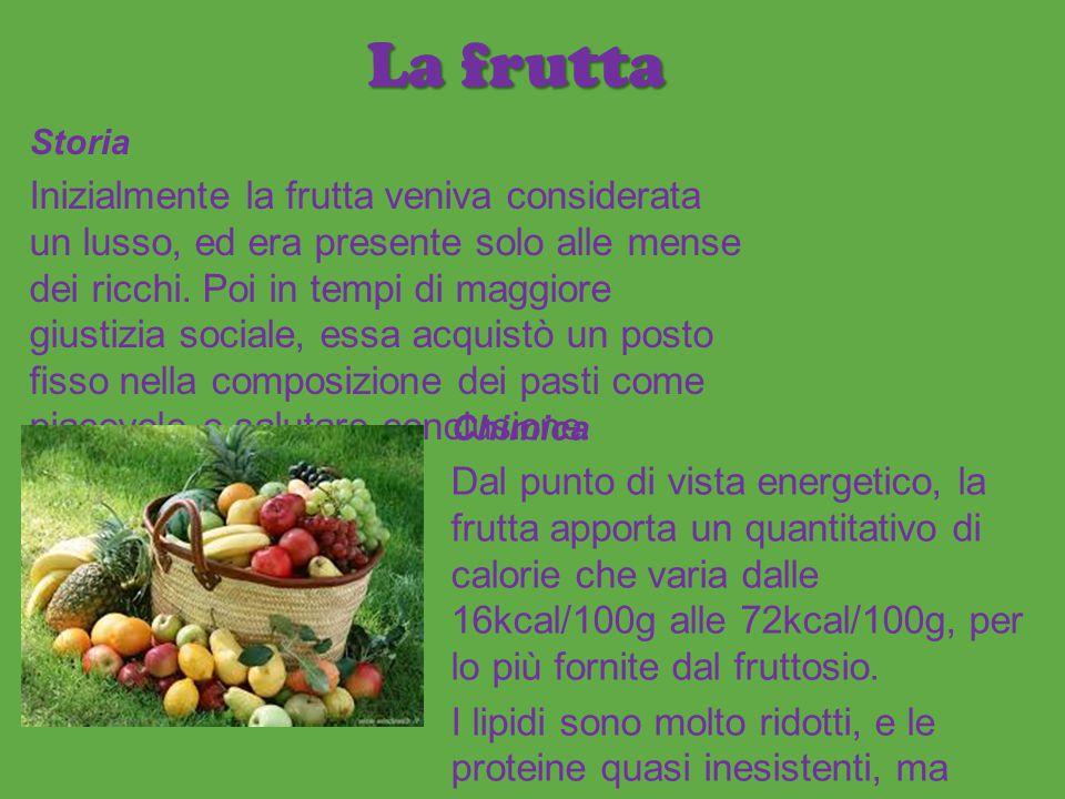 La frutta Storia.