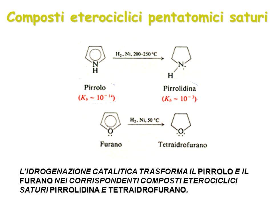 Composti eterociclici pentatomici saturi