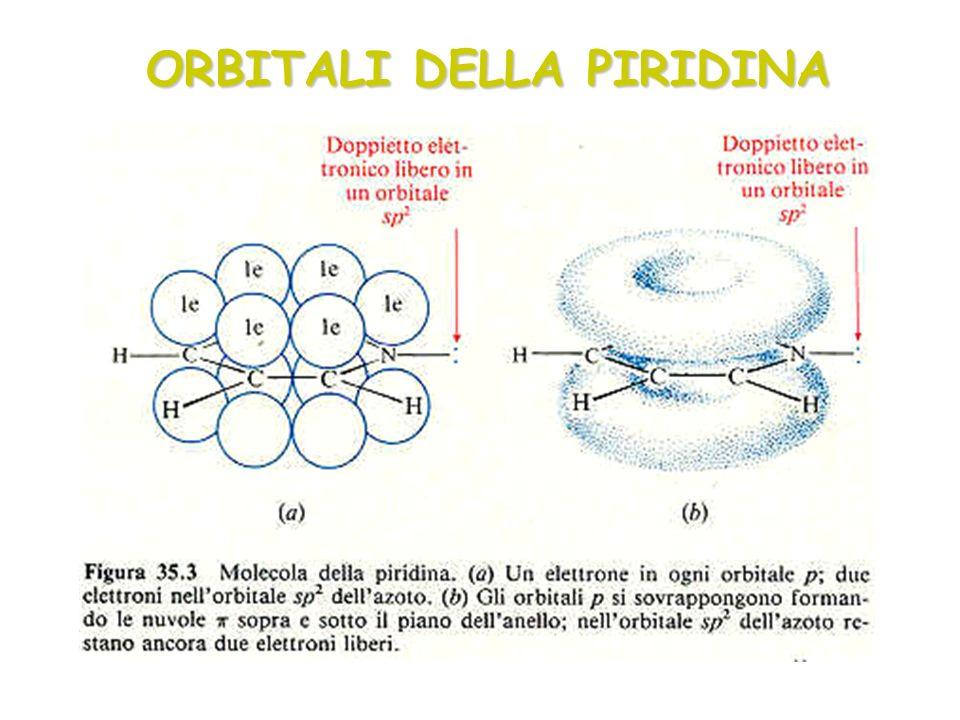 ORBITALI DELLA PIRIDINA