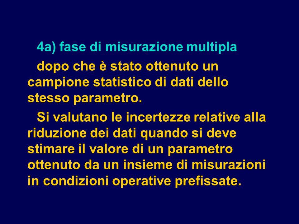 4a) fase di misurazione multipla