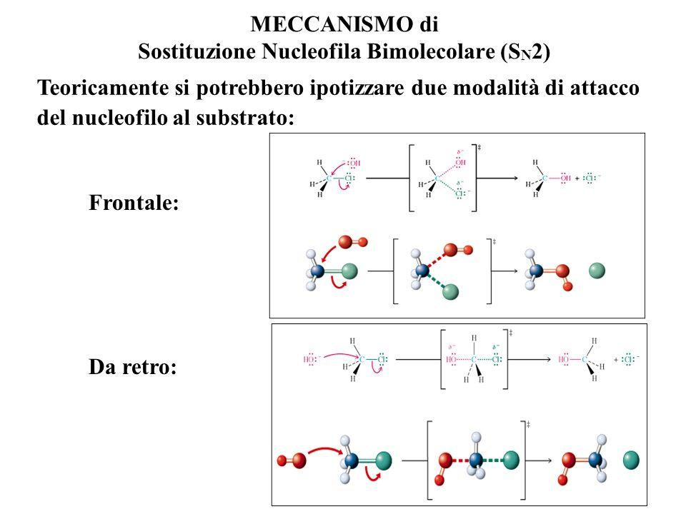 MECCANISMO di Sostituzione Nucleofila Bimolecolare (SN2)