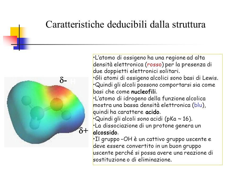 Caratteristiche deducibili dalla struttura