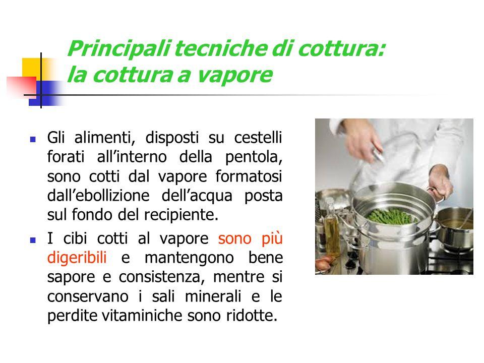 Principali tecniche di cottura: la cottura a vapore