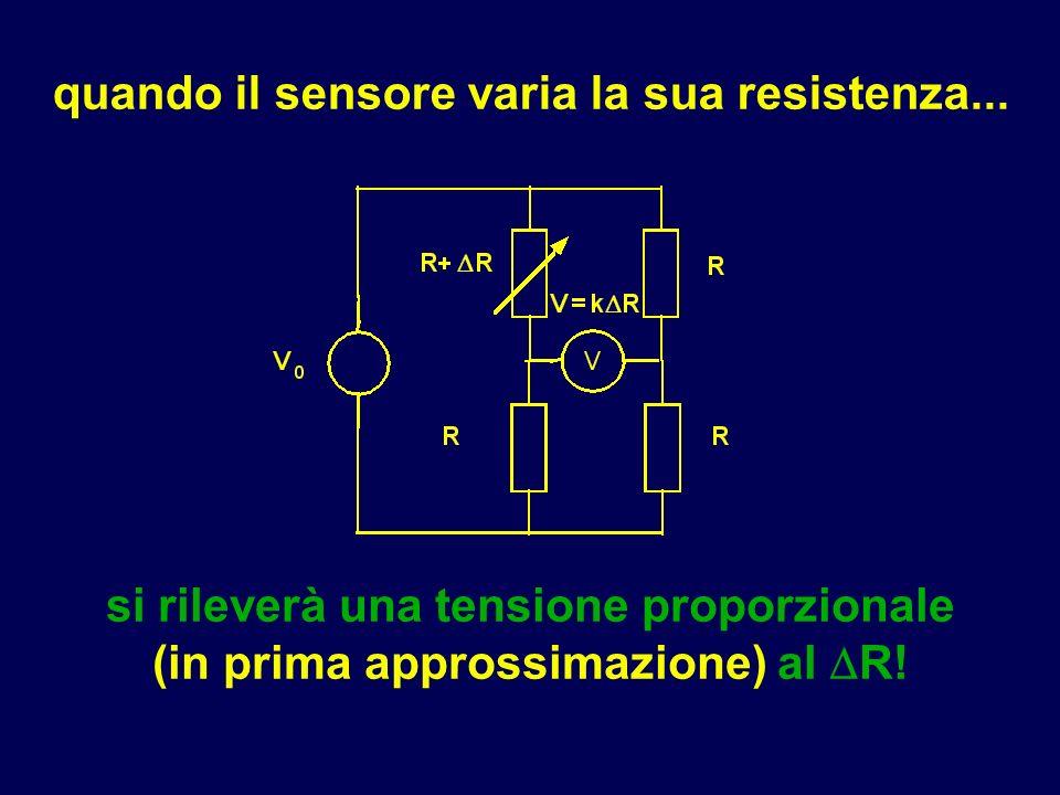 quando il sensore varia la sua resistenza...