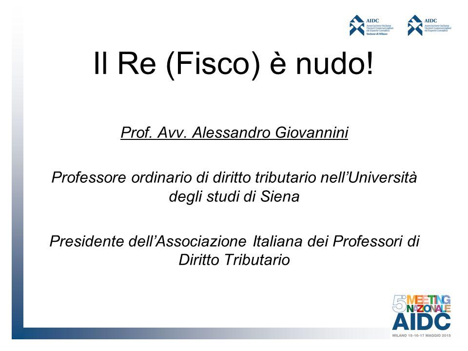 Prof. Avv. Alessandro Giovannini