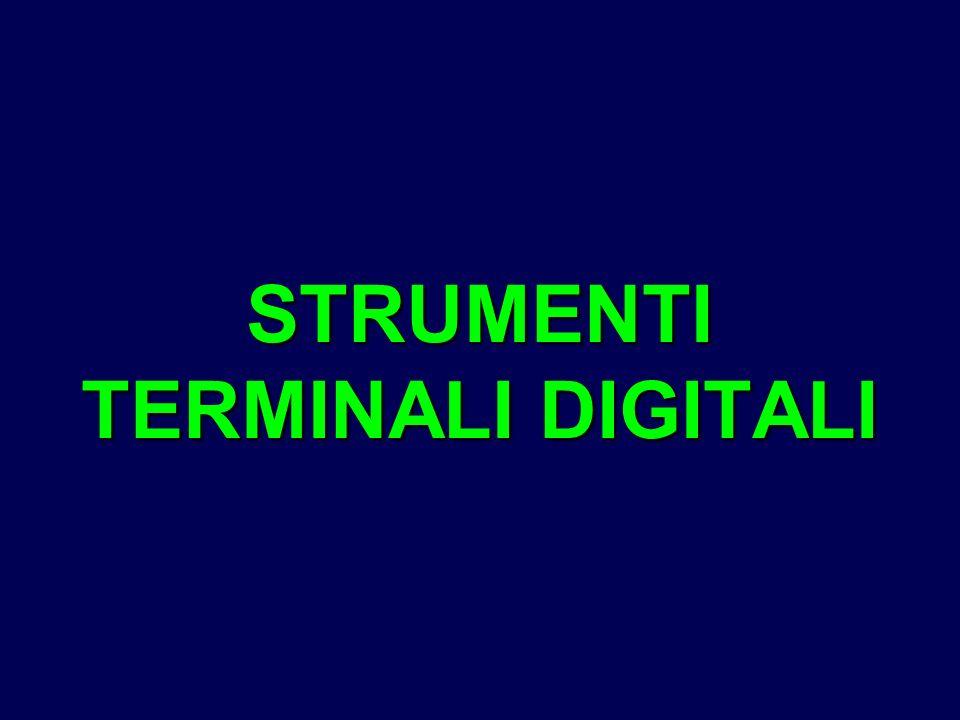 STRUMENTI TERMINALI DIGITALI