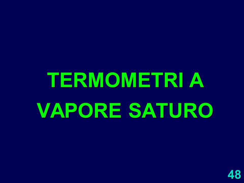 TERMOMETRI A VAPORE SATURO
