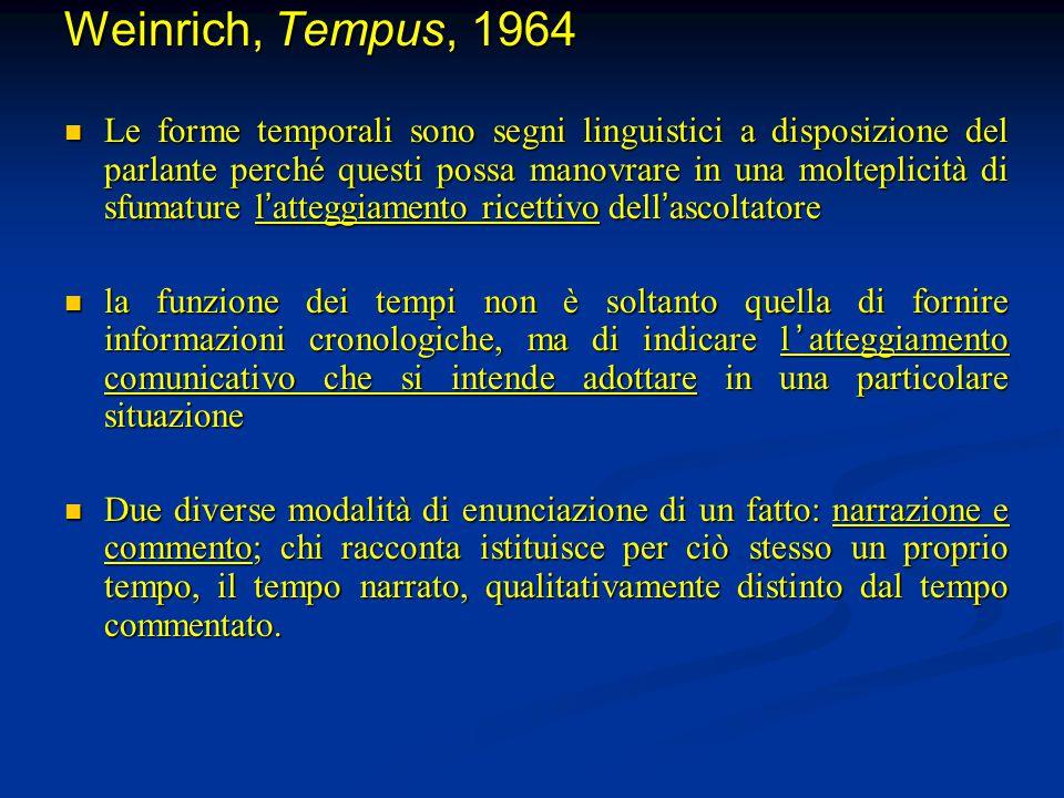 Weinrich, Tempus, 1964
