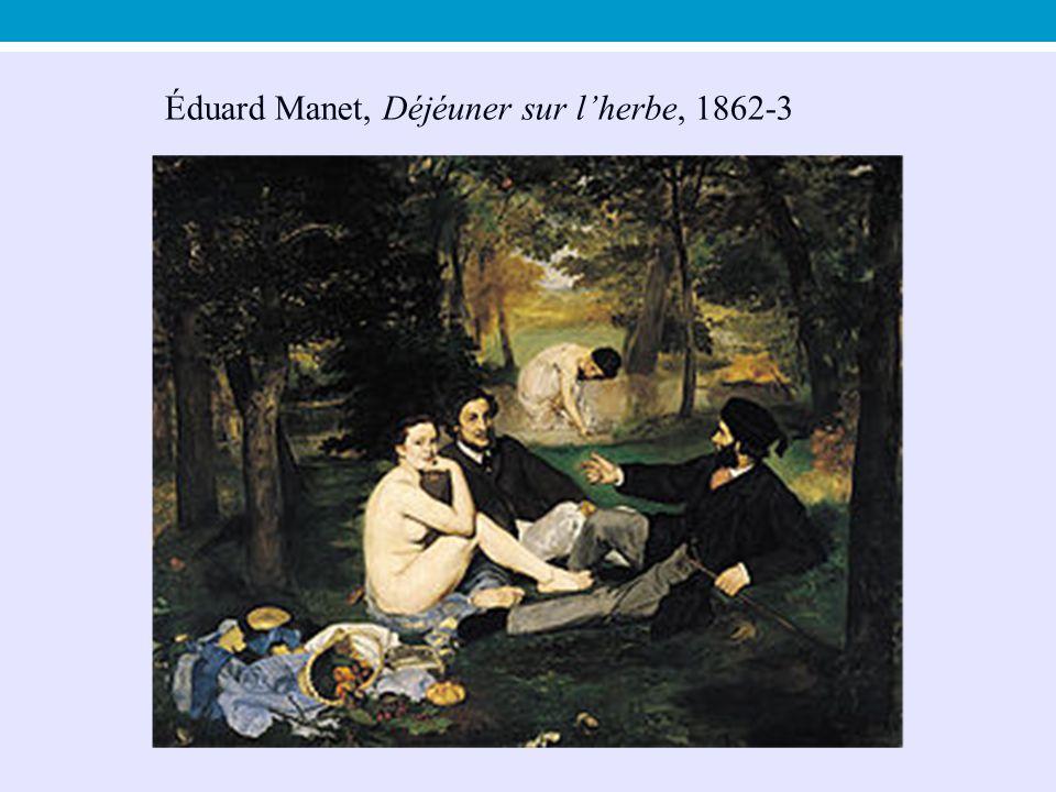 Éduard Manet, Déjéuner sur l'herbe, 1862-3