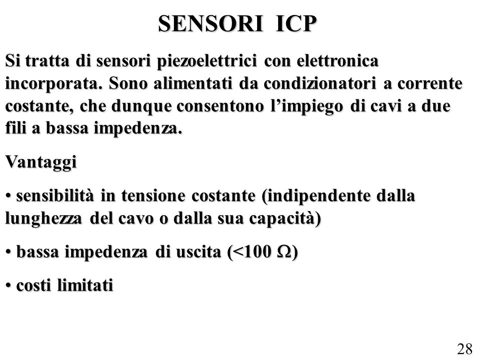 SENSORI ICP