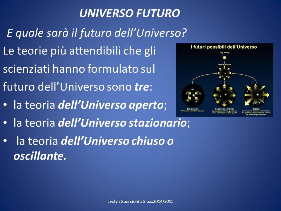 E quale sarà il futuro dell'Universo
