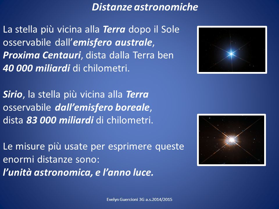 Distanze astronomiche