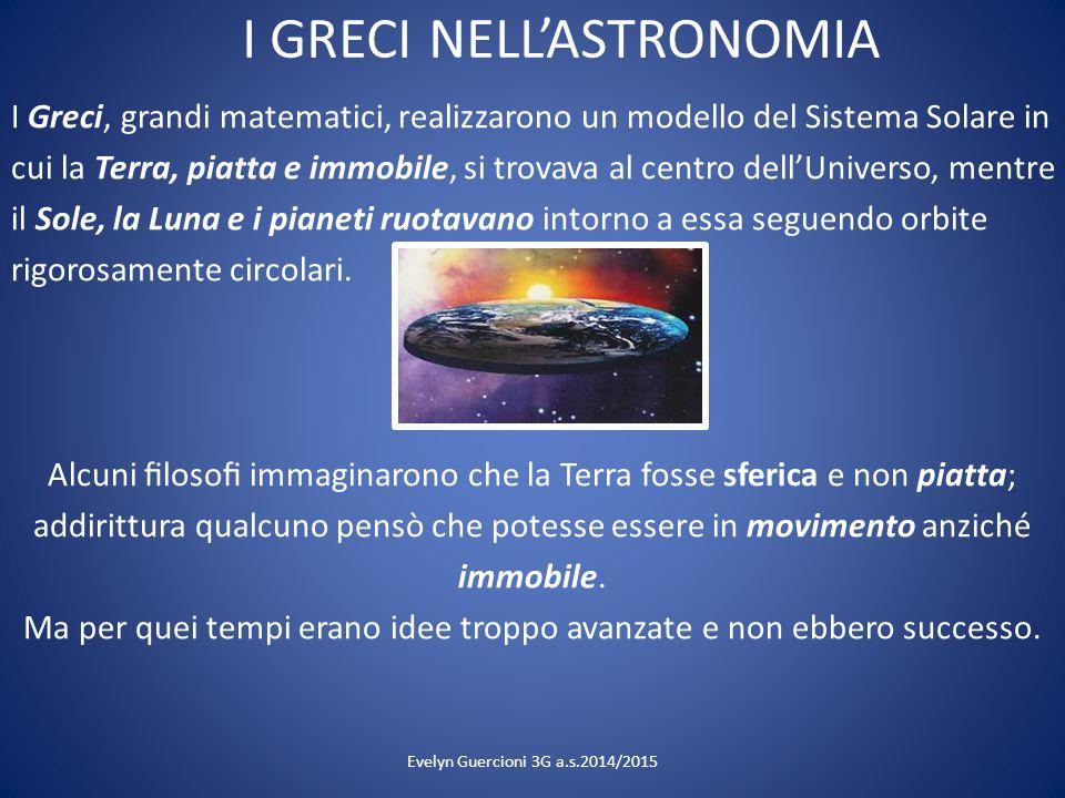 I GRECI NELL'ASTRONOMIA