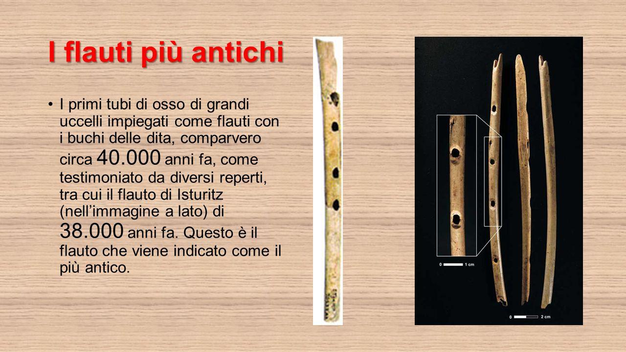 I flauti più antichi