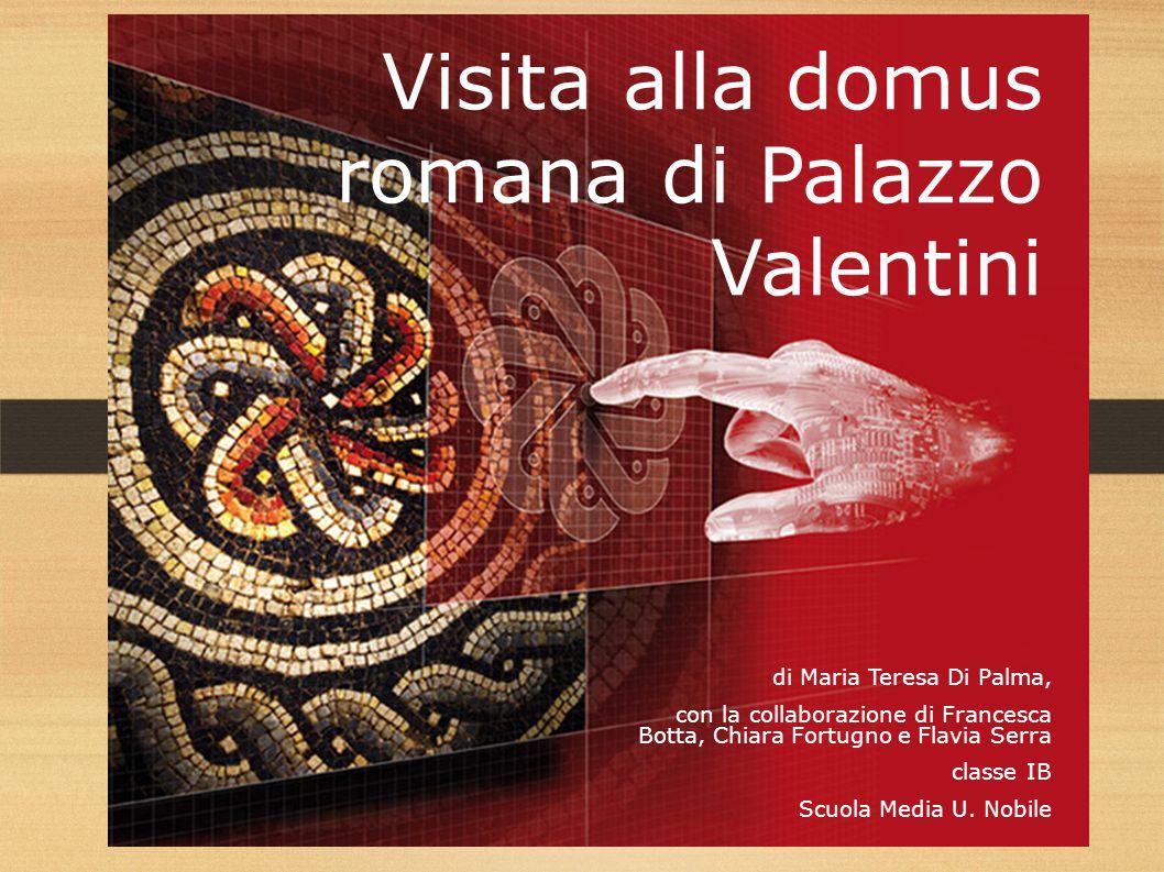 Visita alla domus romana di Palazzo Valentini