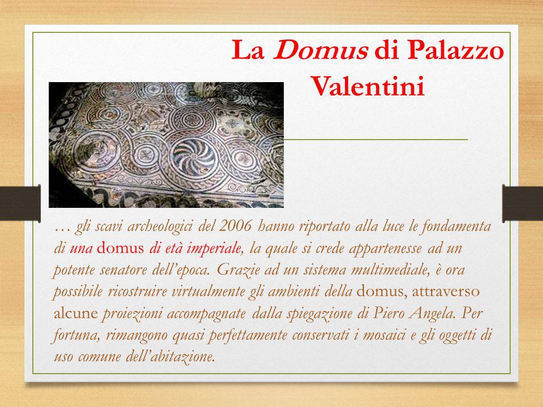 La Domus di Palazzo Valentini