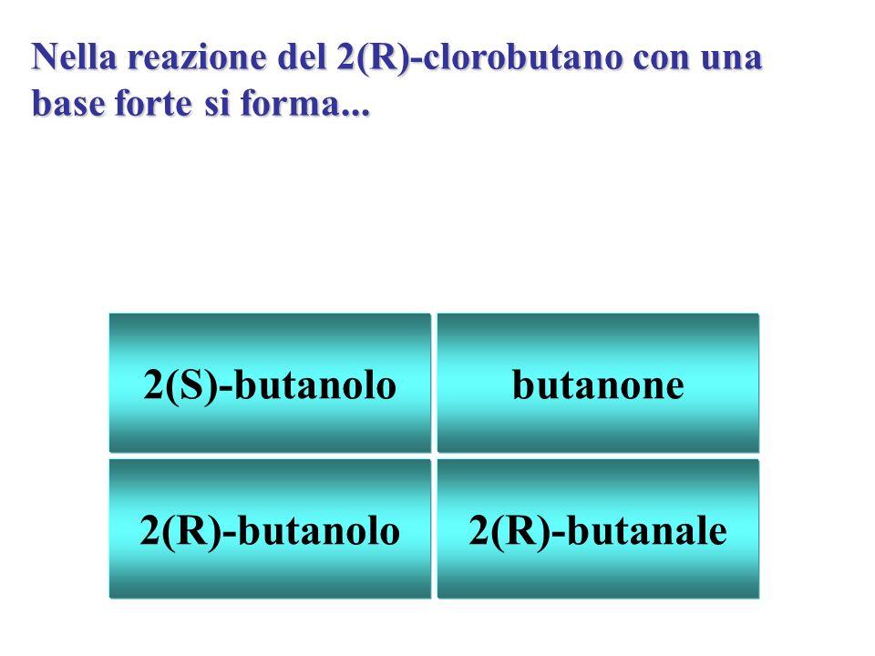 2(S)-butanolo butanone 2(R)-butanolo 2(R)-butanale