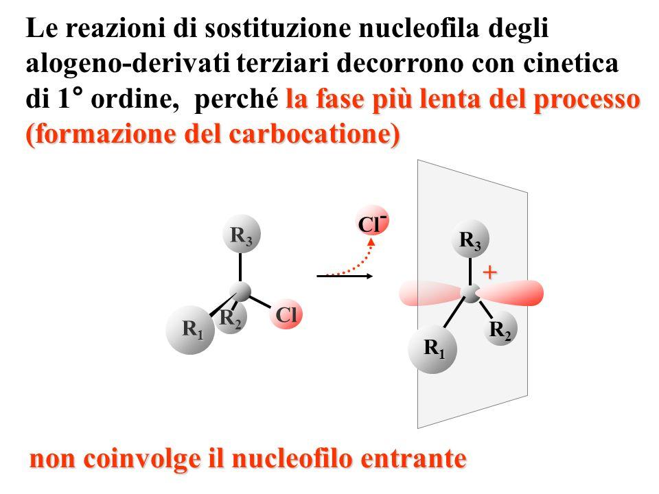 Le reazioni di sostituzione nucleofila degli