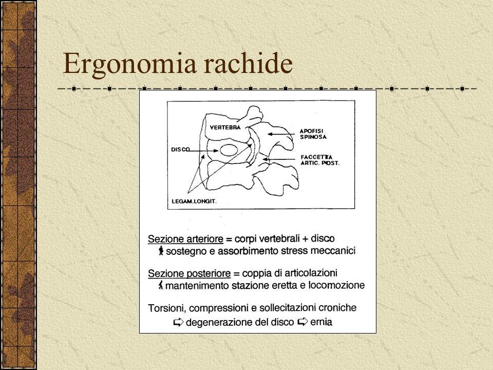 Ergonomia rachide