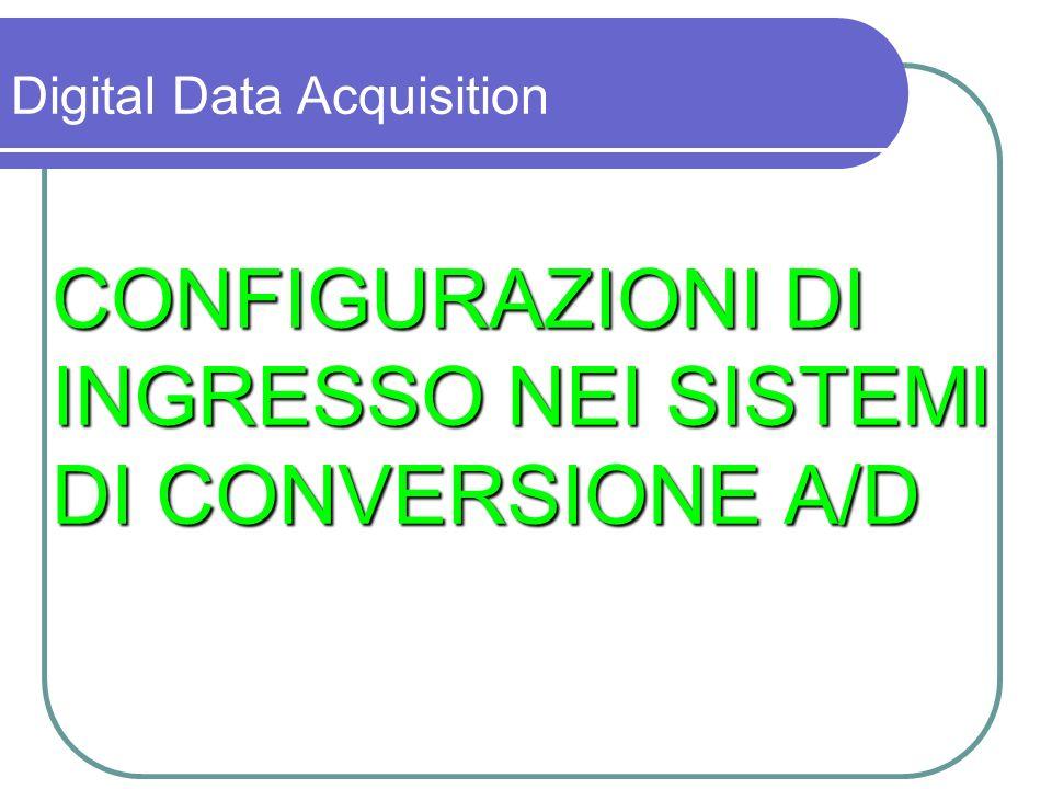 CONFIGURAZIONI DI INGRESSO NEI SISTEMI DI CONVERSIONE A/D