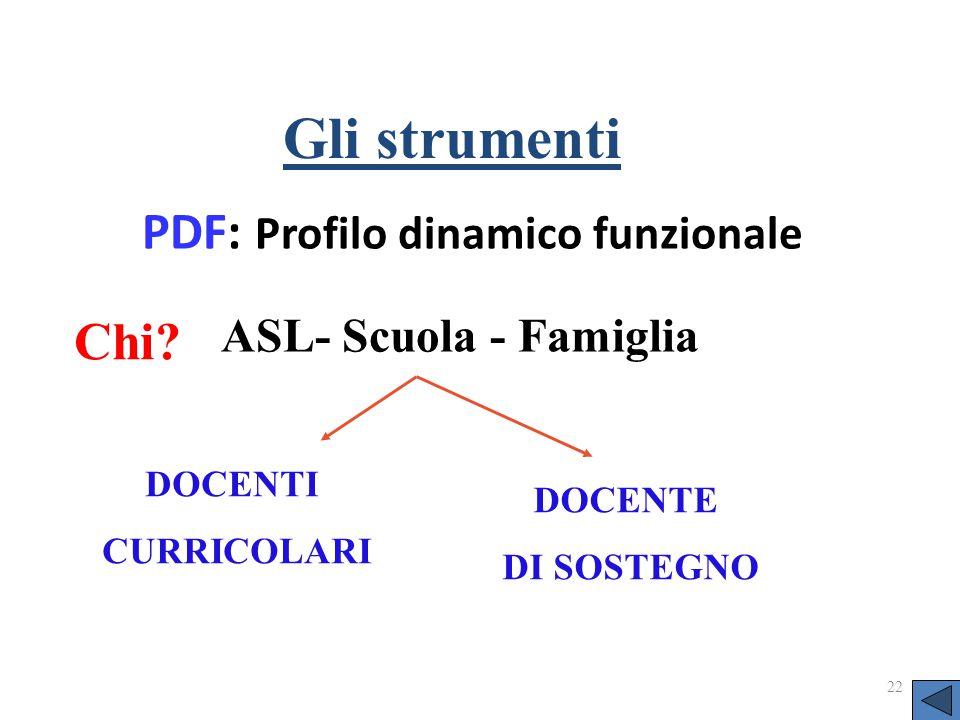 PDF: Profilo dinamico funzionale