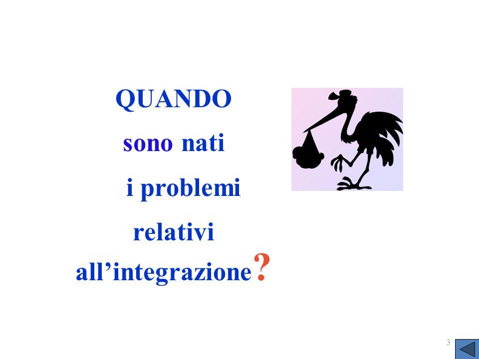 relativi all'integrazione