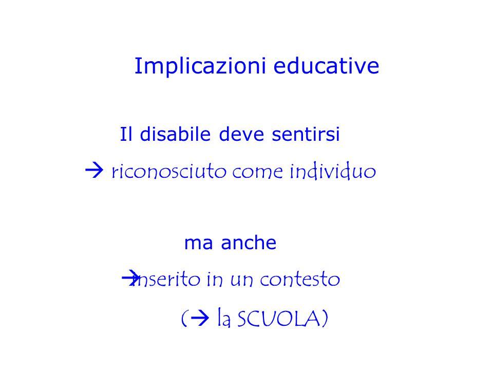 Implicazioni educative