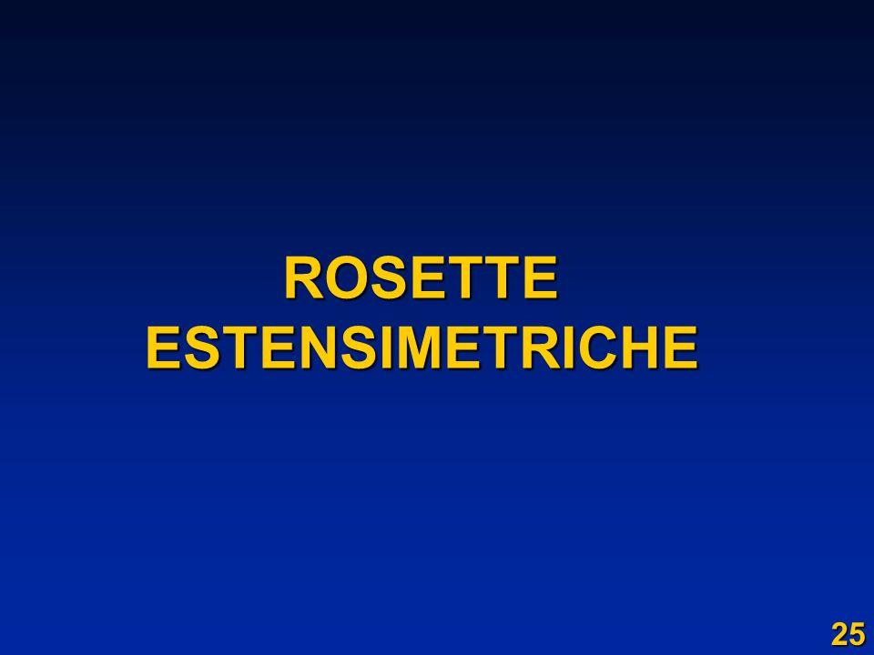 ROSETTE ESTENSIMETRICHE