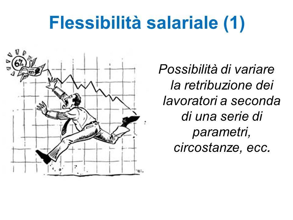 Flessibilità salariale (1)