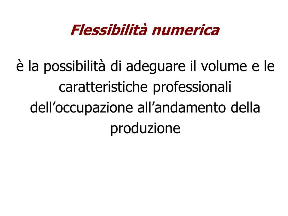 Flessibilità numerica