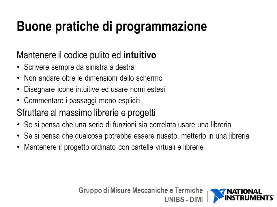 Buone pratiche di programmazione