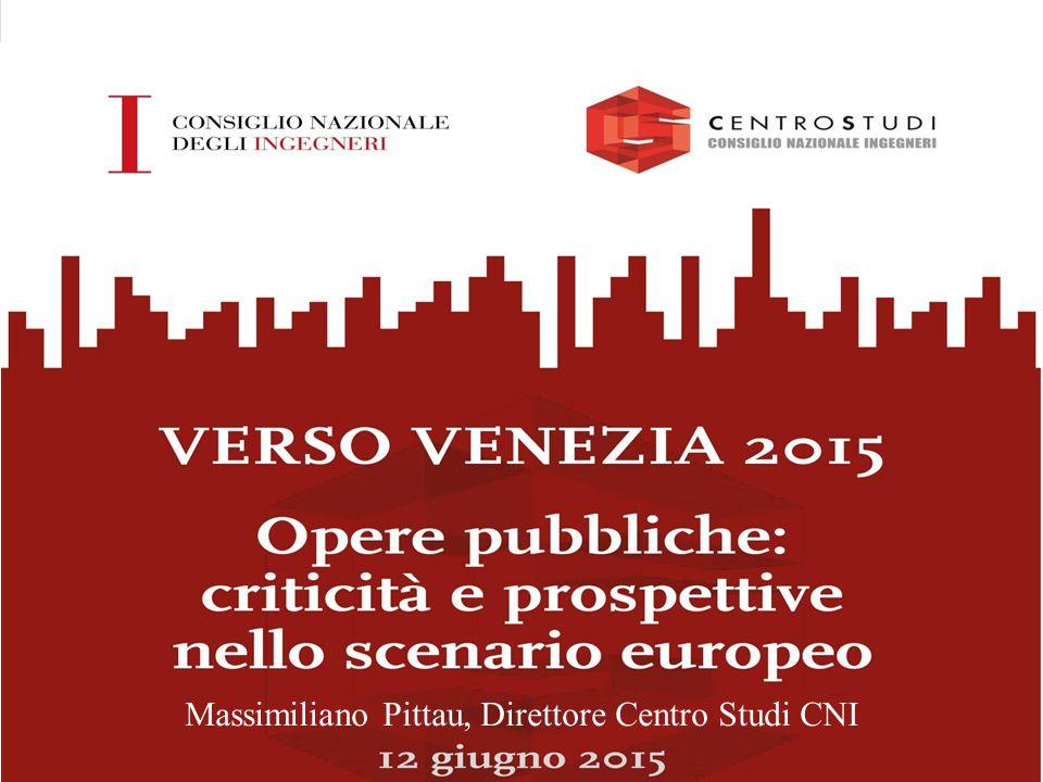 OPERE PUBBLICHE: CRITICITÀ E PROSPETTIVE NELLO SCENARIO EUROPEO