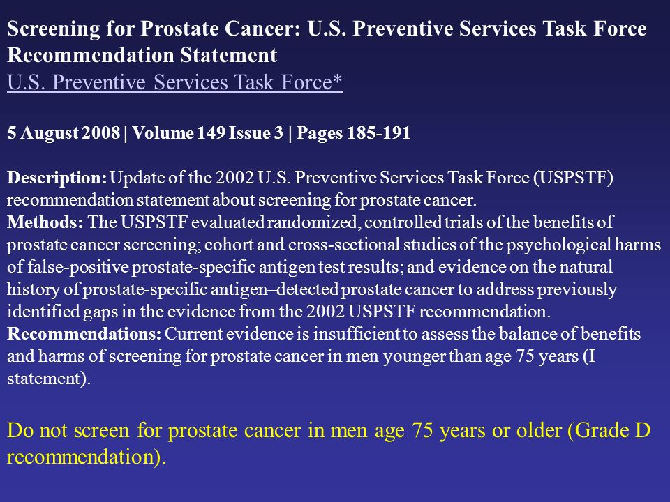 U.S. Preventive Services Task Force*