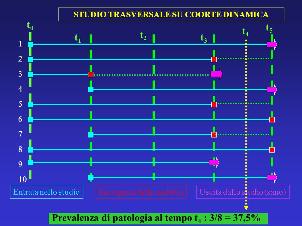 STUDIO TRASVERSALE SU COORTE DINAMICA