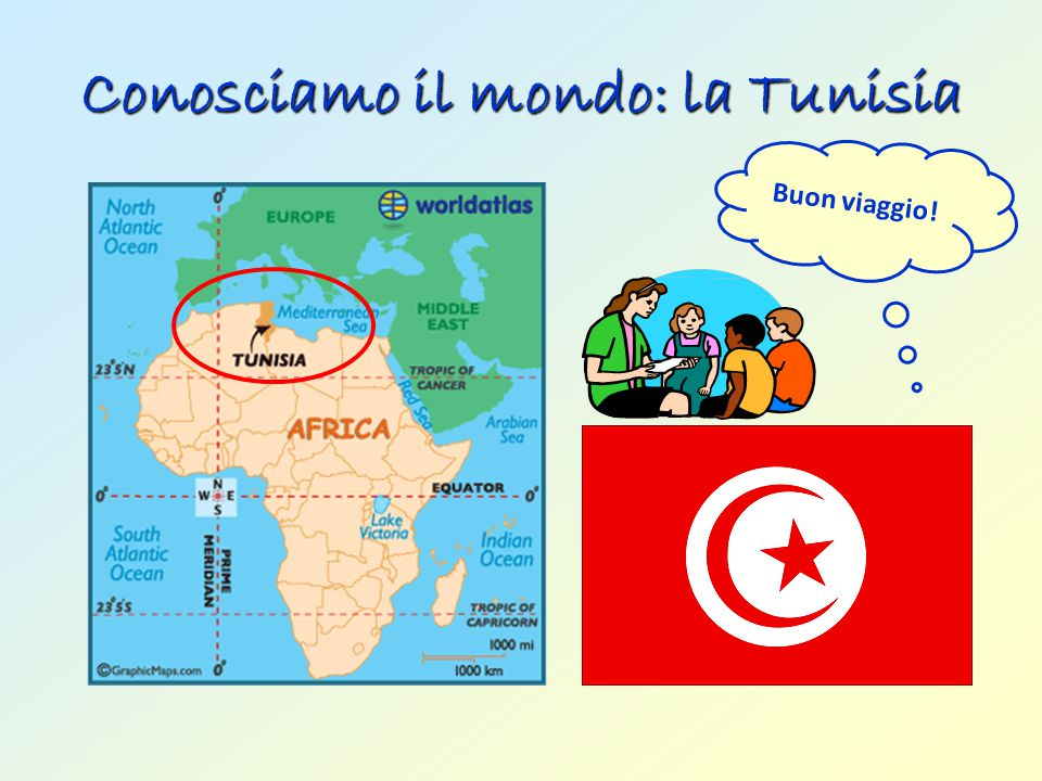Conosciamo il mondo: la Tunisia