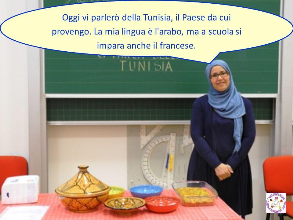 Oggi vi parlerò della Tunisia, il Paese da cui provengo
