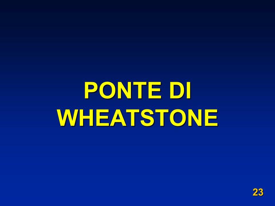 PONTE DI WHEATSTONE 23