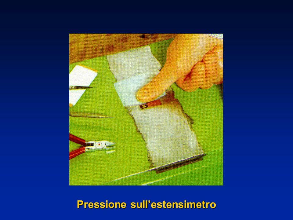 Pressione sull'estensimetro