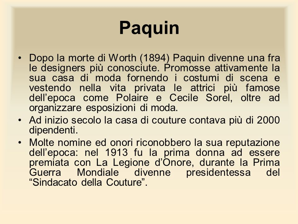 Paquin
