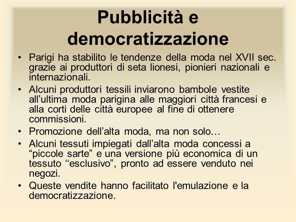 Pubblicità e democratizzazione