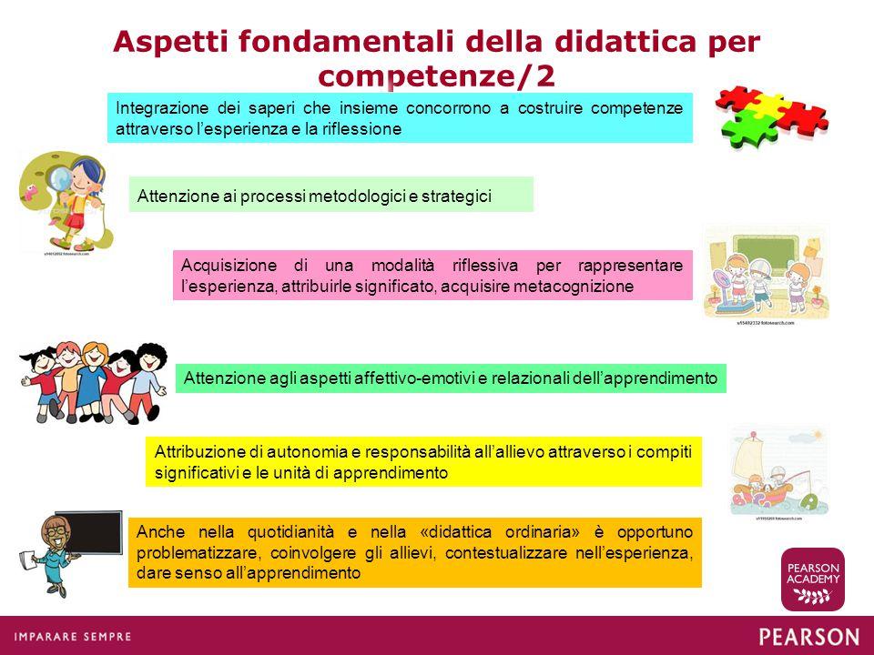Aspetti fondamentali della didattica per competenze/2
